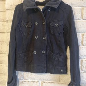 Hurley Jacket, Navy, Size Small